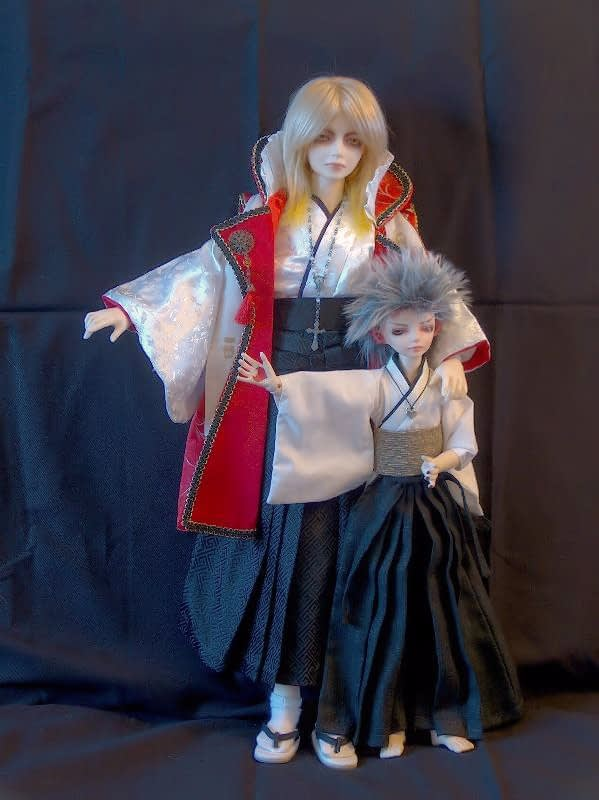 our doll family in 2007