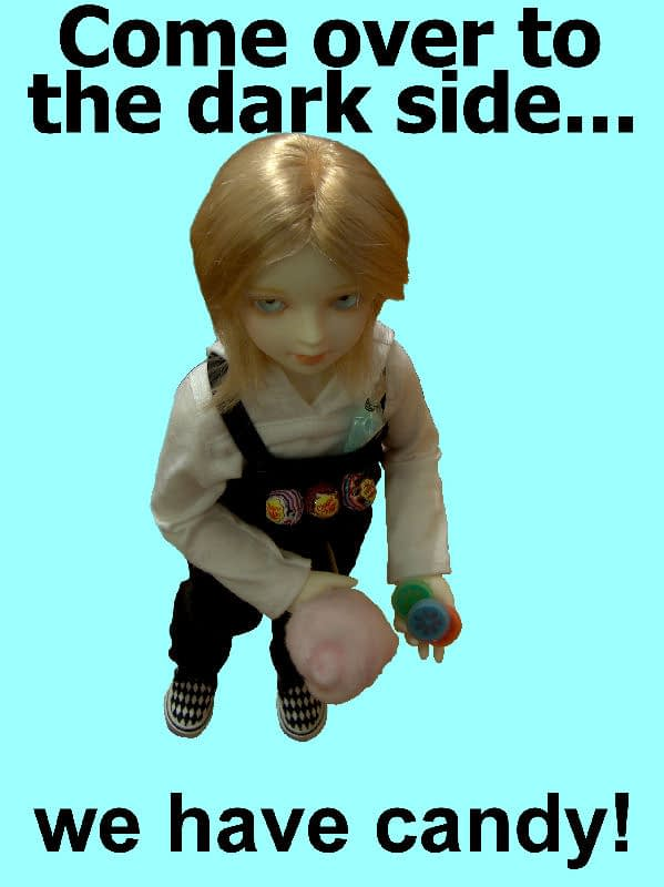 Come over to the dark side BJD