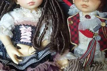 pirate ball jointed dolls