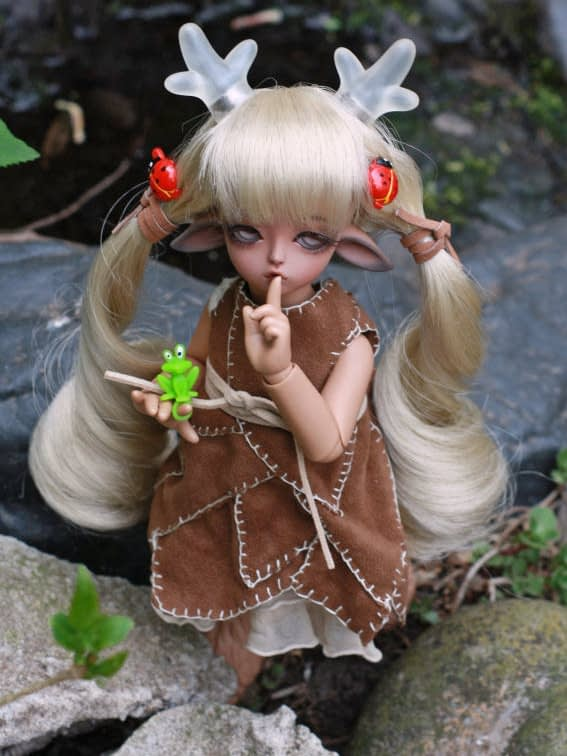 Sivia in the faerie garden