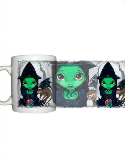 For sale Jasmine Becket Griffith Wicked with and flying monkey mug