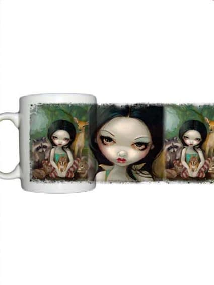 For sale Jasmine Becket Griffith Snow White and her animal friends mug