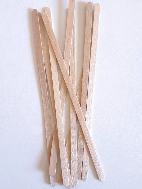 Coffee stirrer sticks